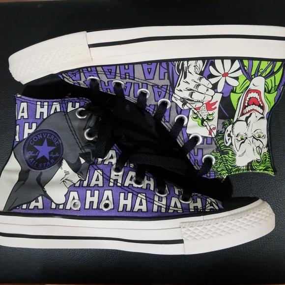 d0256bfe01a4 Converse Shoes - Batman and Joker Converse special edition DC comic